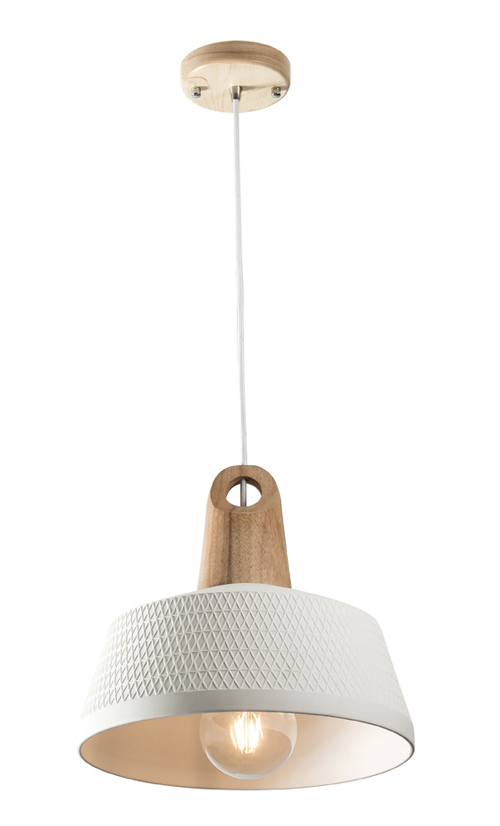 Morrissey Ceramic Timber Pendant Light #pendantlighting