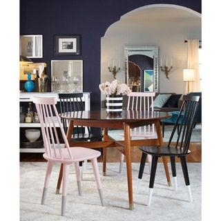 Angelohome Allen Mid Century Dining Tableangelohome  Shops Extraordinary Dining Room Furniture Outlet Stores Design Ideas