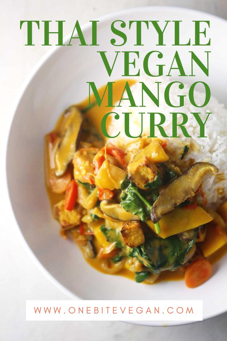 Thai Style Mango Curry