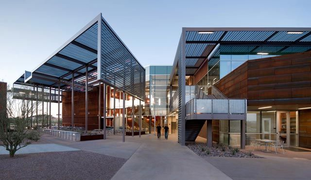 Smithgroup The Saguaro Building At Mesa Community College Mesa