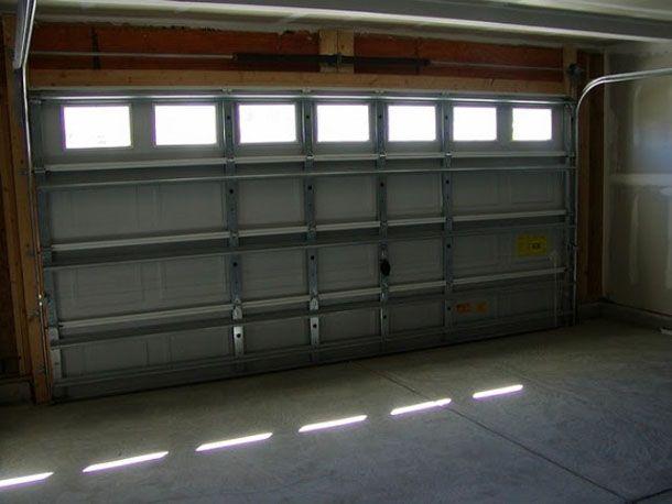 Remove Garage Door Sproings