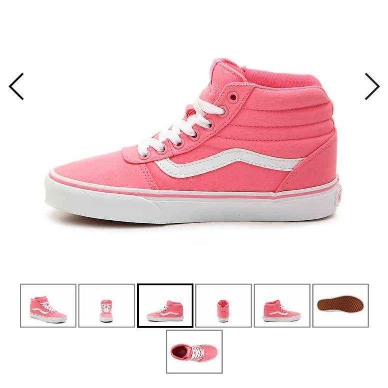 ships day of* *Firm* Vans Ward High Top Sneaker Women's