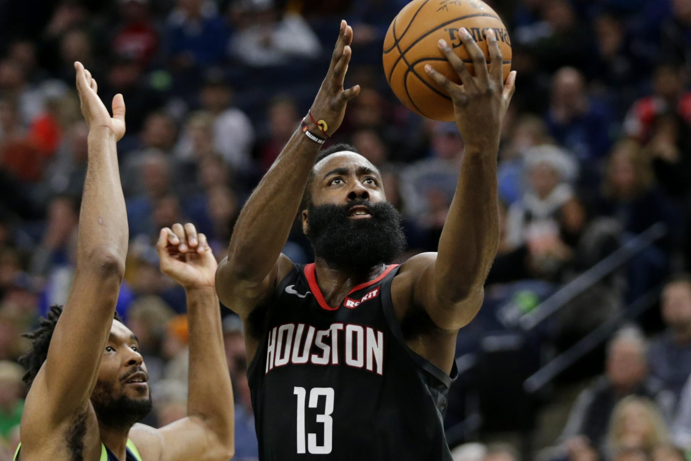 Harden leads Rockets to seventh straight win National