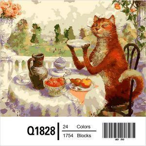 Жизнь удалась - Раскраска по цифрам Q1828   Painting, Oil ...
