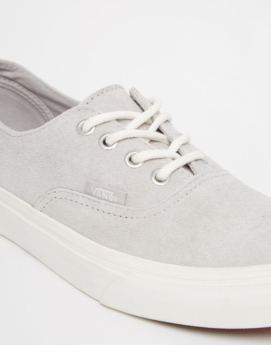 authentic vans grau