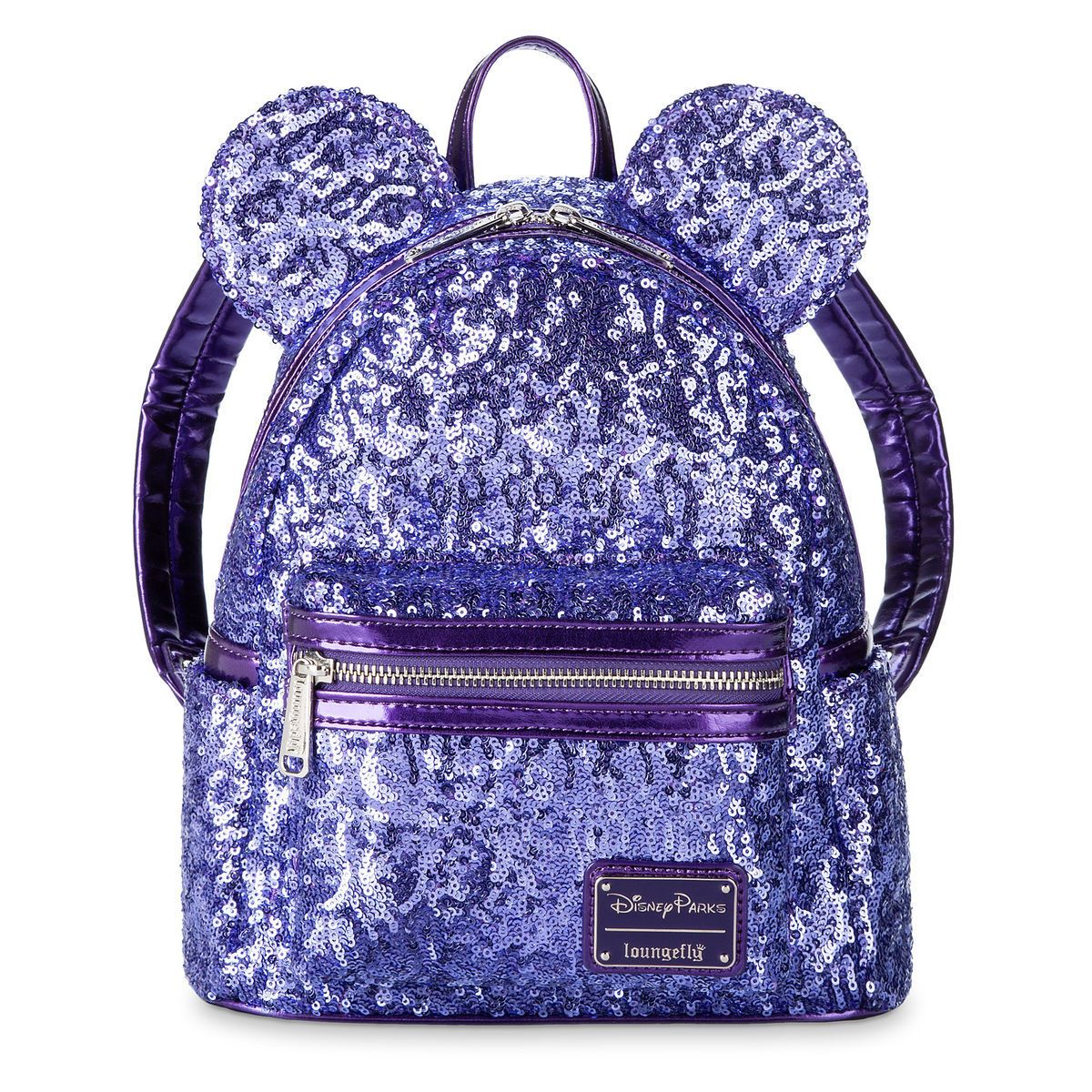 dbdf0fe0b2 Product Image of Minnie Mouse Potion Purple Sequined Mini Backpack by  Loungefly   1