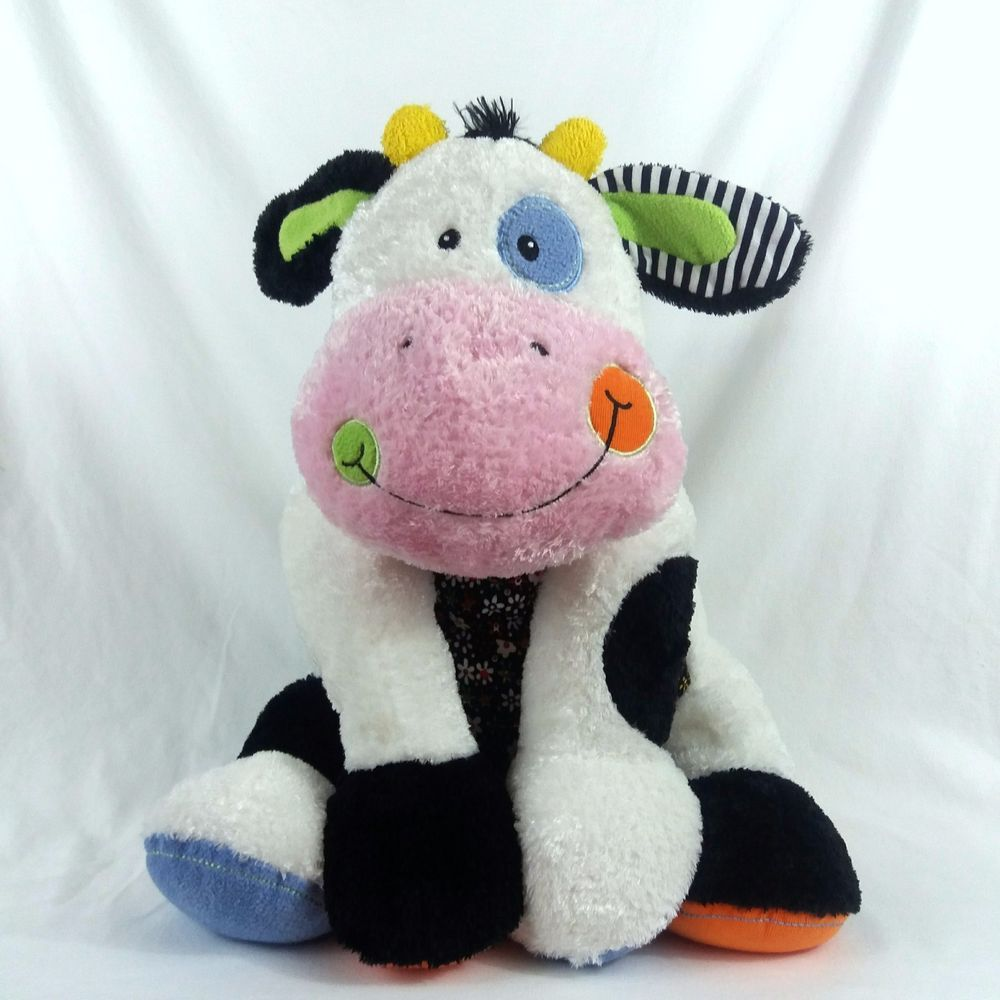 Mary Meyer Plush 22 In Cheery Cheeks Cowlossal Carefree Cow Large