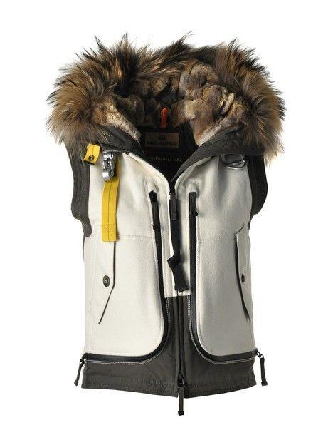 PJS Parajumpers Skimaster Vest-W Black White