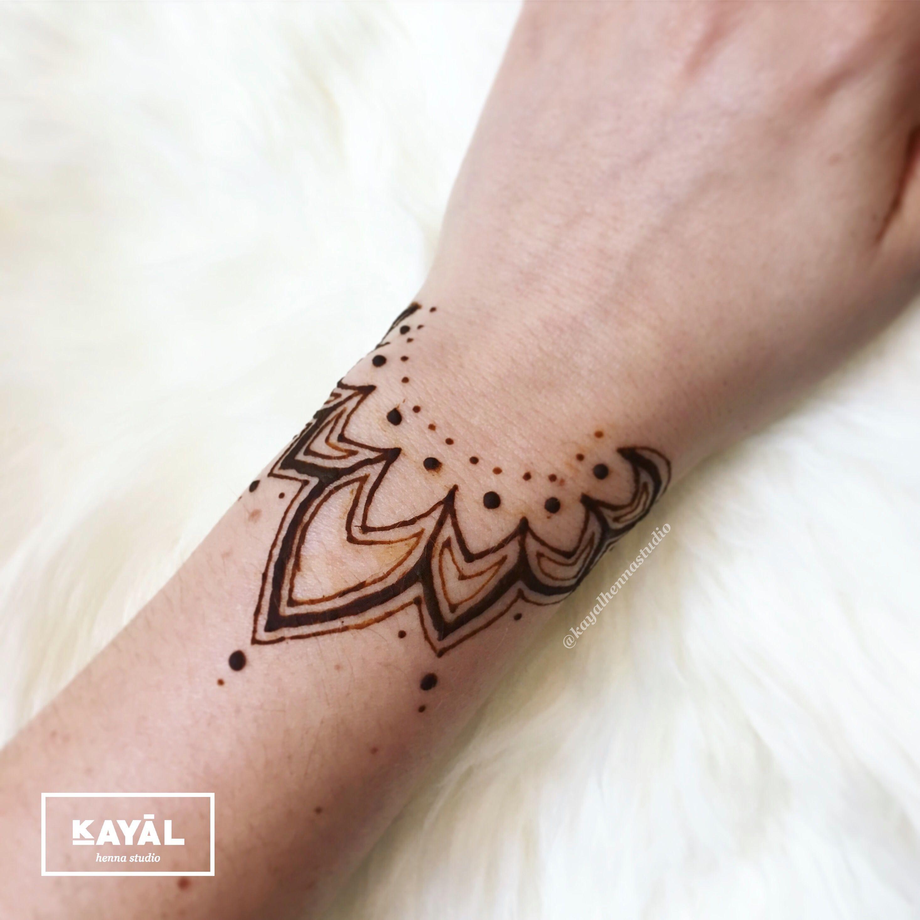 Henna Cuff Www Jamilahhennacreations Com: Henna Bracelet Design By Ḵayāl Henna Studio. Instagram