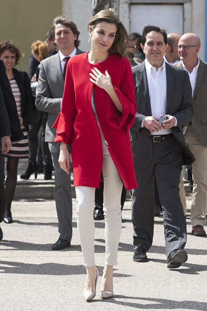 Queen Letizia Receives 'Fundacion princesa De Girona Award Winner in Soria