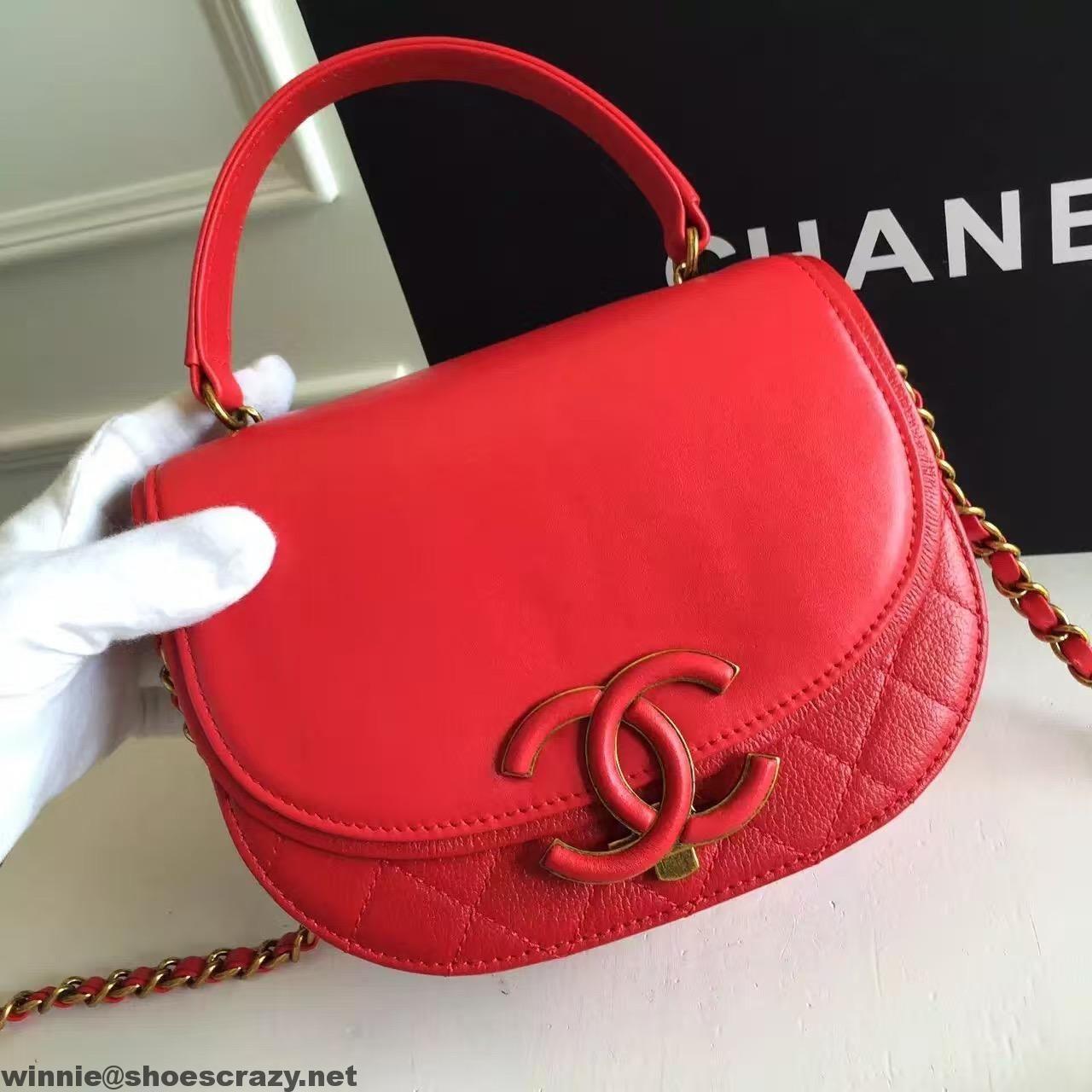 ada265fc35fd Chanel Coco Curve Flap Messenger Bag A93460 Paris 2016 | Chanel ...