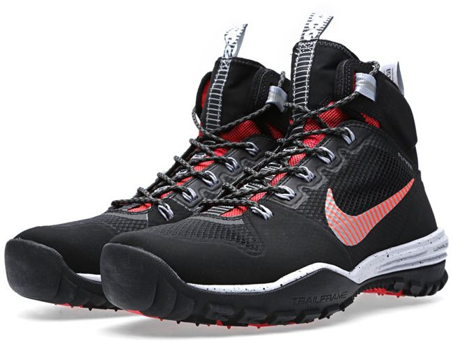 "Nike ACG Lunar Incognito Mid ""Black, Metallic Silver & Red"" - EU Kicks: Sneaker Magazine"