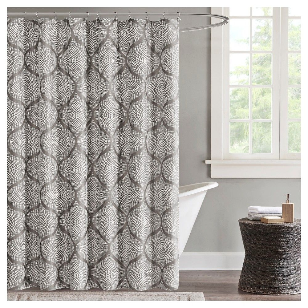 Shower curtain grey x products pinterest products