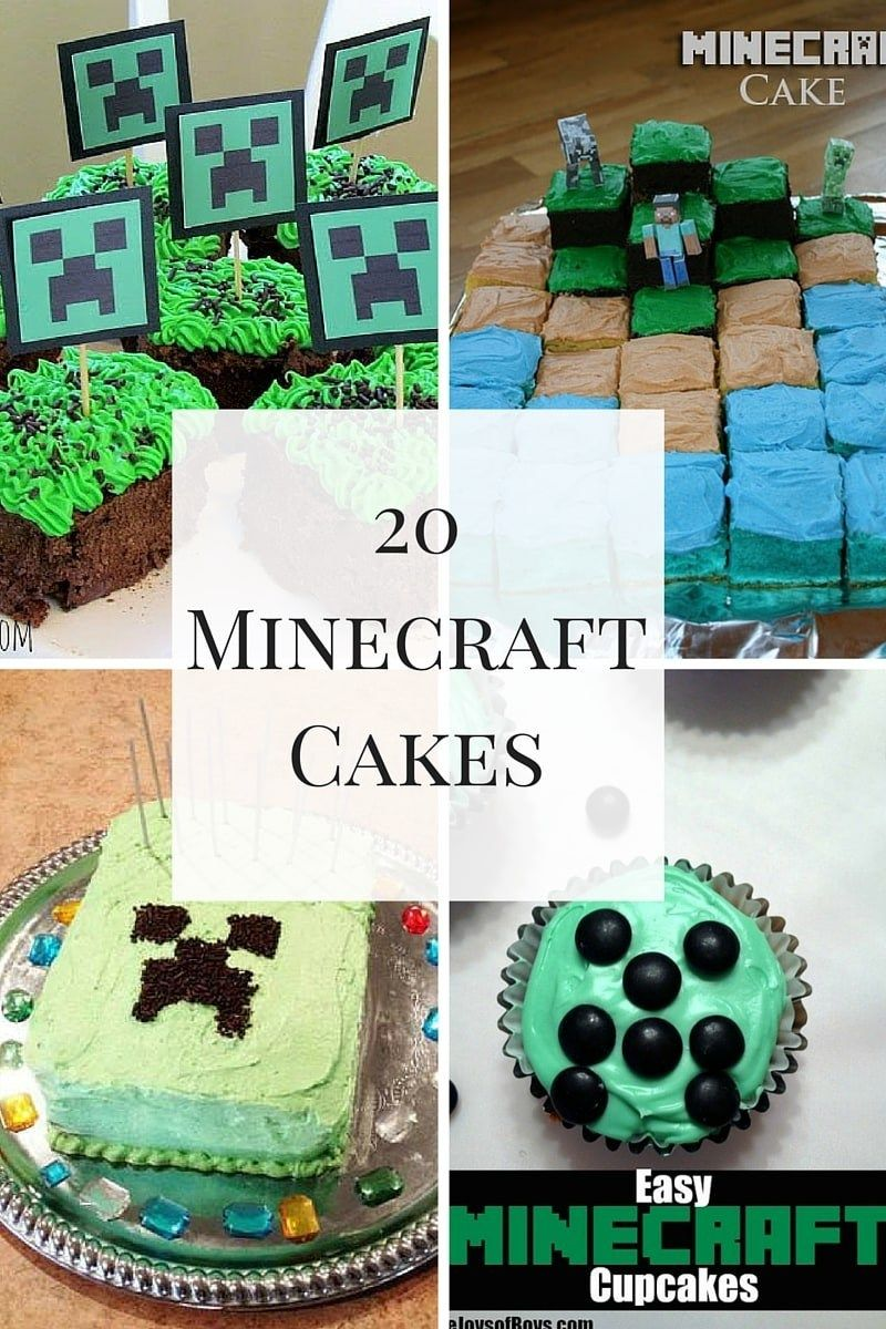 Fine Minecraft Birthday Cake Ideas Awesome Minecraft Cakes For A Funny Birthday Cards Online Alyptdamsfinfo