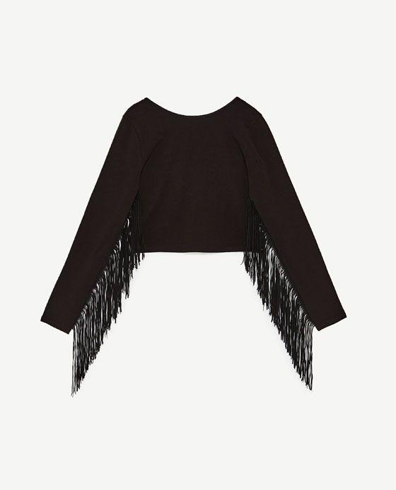 muchas opciones de mas fiable comprar real Imagen 6 de CAMISETA FLECOS de Zara | Wishlist | Camisetas ...