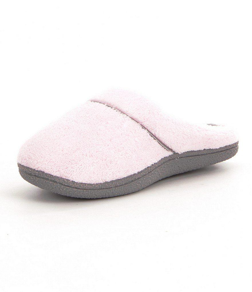 Cabernet Microfiber Terry Slippers Dillard S Slippers Elegant Slippers Sole Slippers