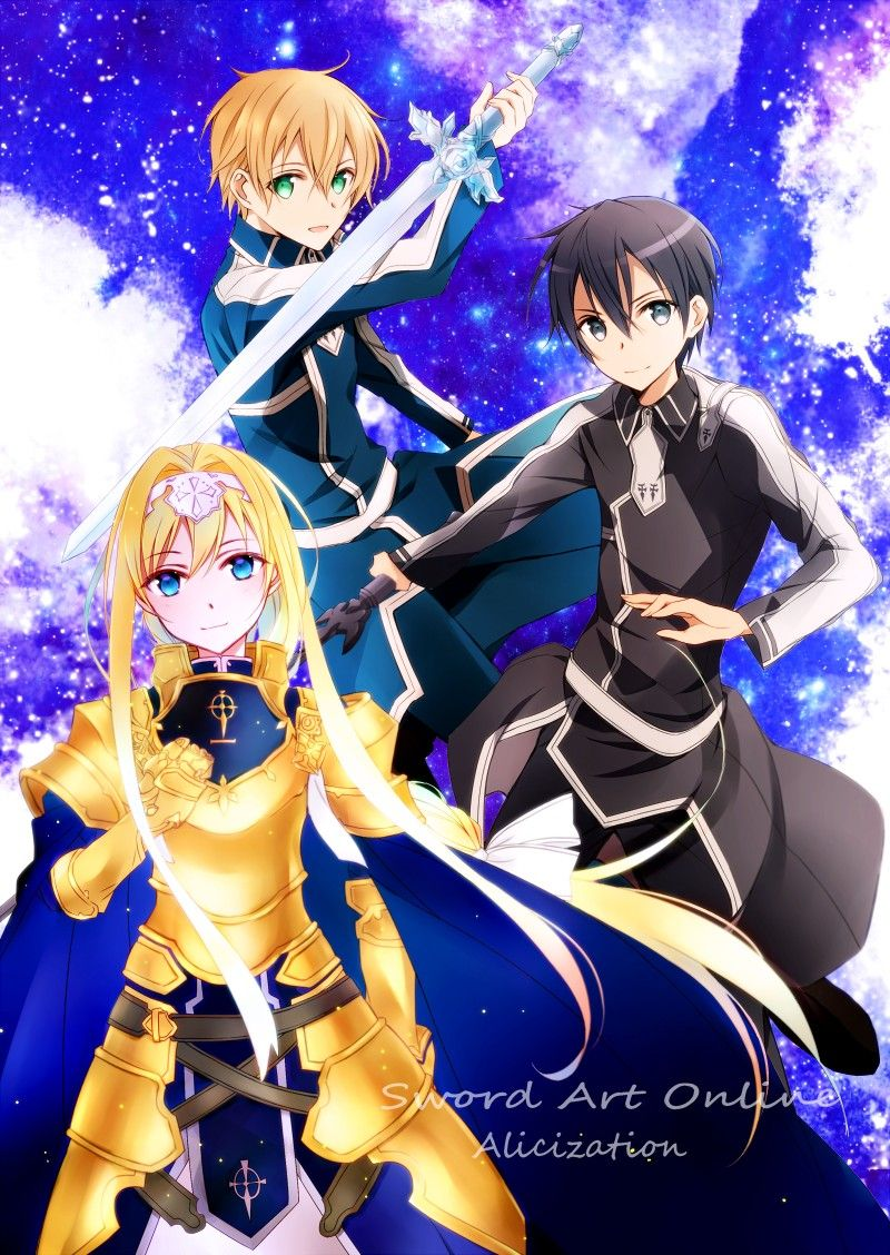 Pin by legends of the sword arts /Galaxy811 on sao Sword