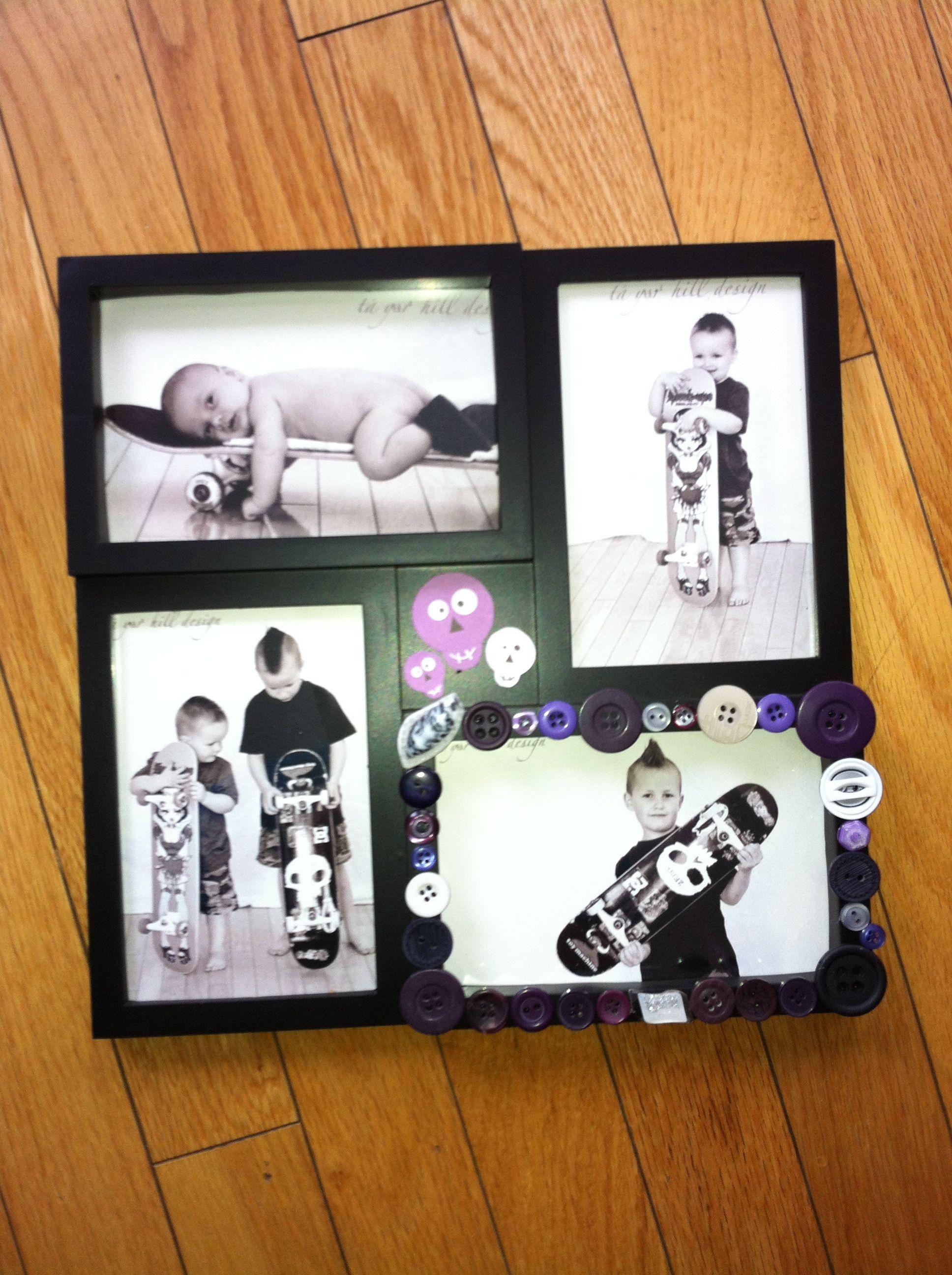 Fun boys frame $3 | Pictures | Pinterest
