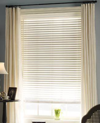 Levolor 2 Visions Faux Wood Blinds W Lightmaster Routless