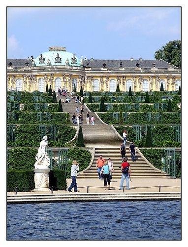 08 09 02 13 57 2 Potsdam Park Sanssouci Schloss Sanssouci Georg Wenzelslaus V Knobelsdorffs Germany Royal Residence Travel