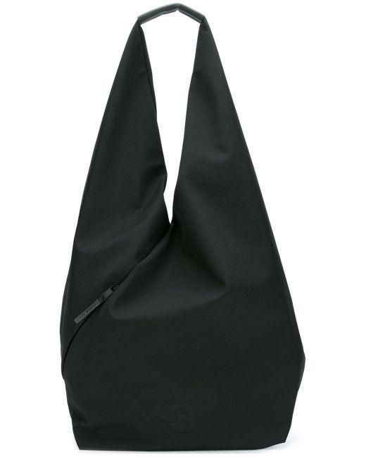 Y-3 Hobo Shoulder Bag in Multicolor (BLACK)  cb8995097bfc7