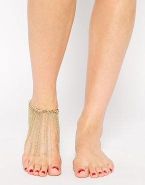 Asos fringe anklet (via http://chicityfashion.com/unique-jewelry/)