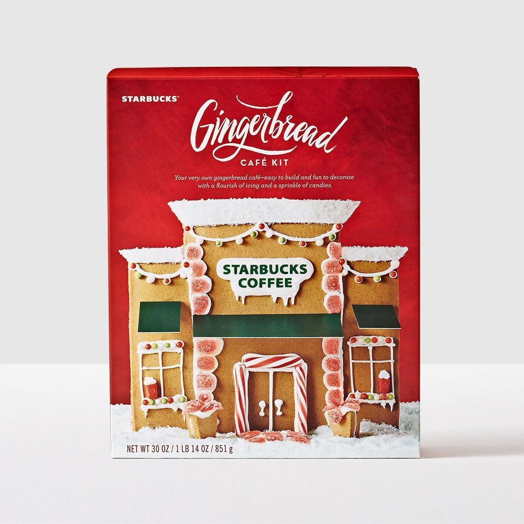 Gingerbread House. Start a delicious holiday tradition—design your very own Starbucks Café and then eat it.