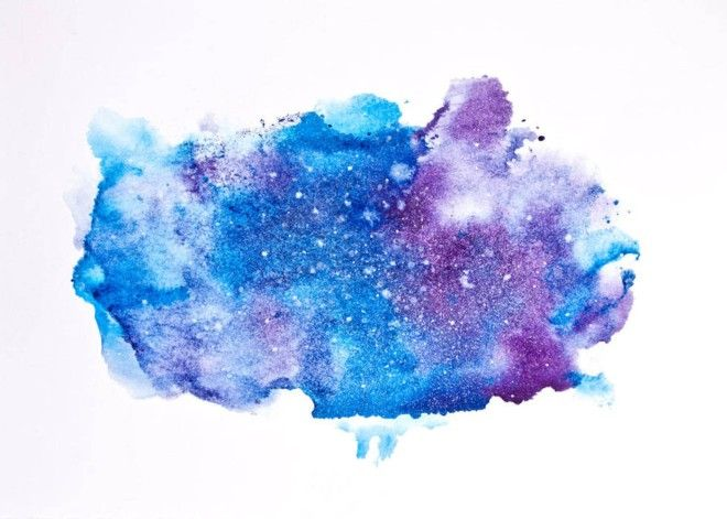 How To Paint A Watercolor Galaxy, Nebula And Night Sky: 10