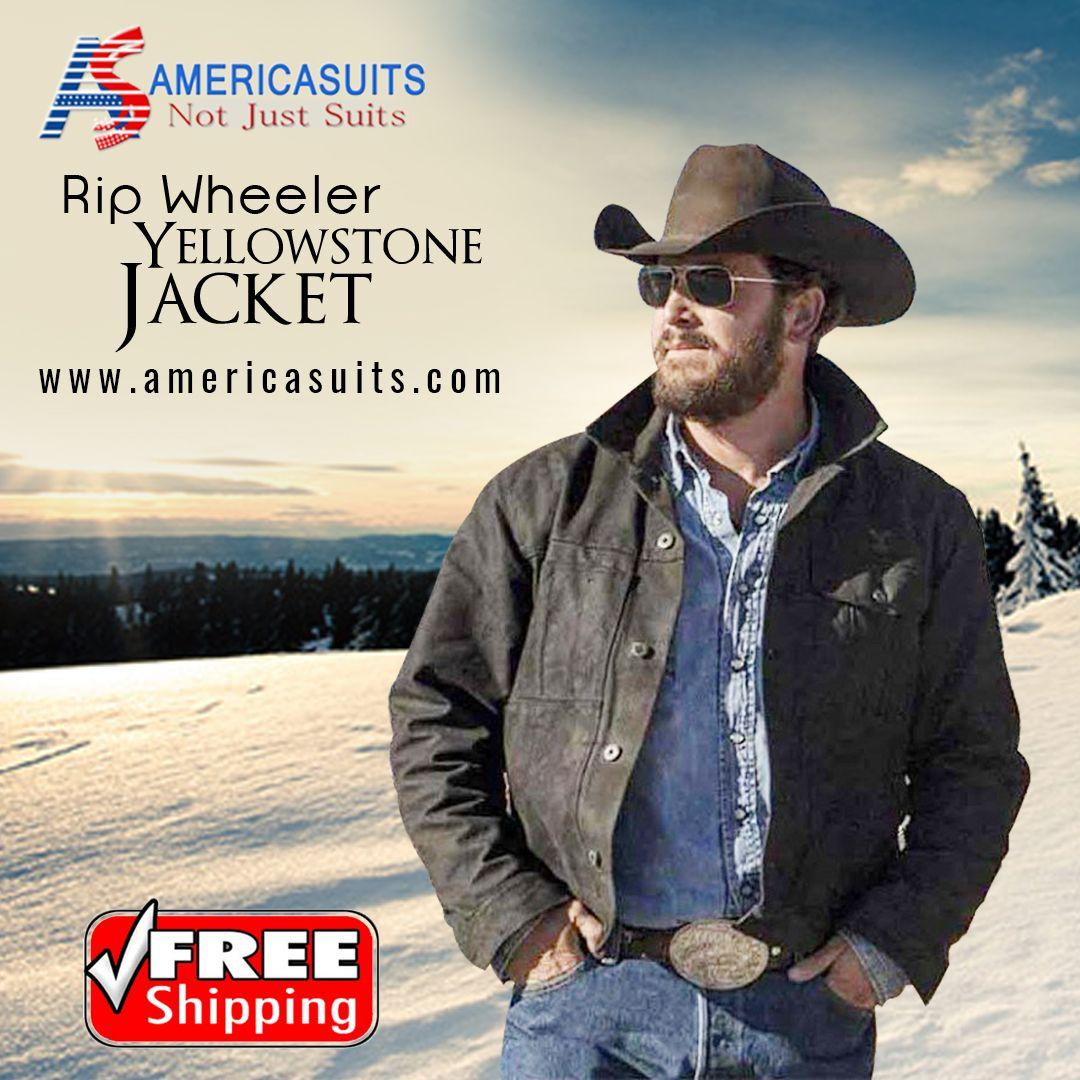 Rip Wheeler Yellowstone Jacket Yellowstone Ripped Jacket Cole Hauser [ 1080 x 1080 Pixel ]