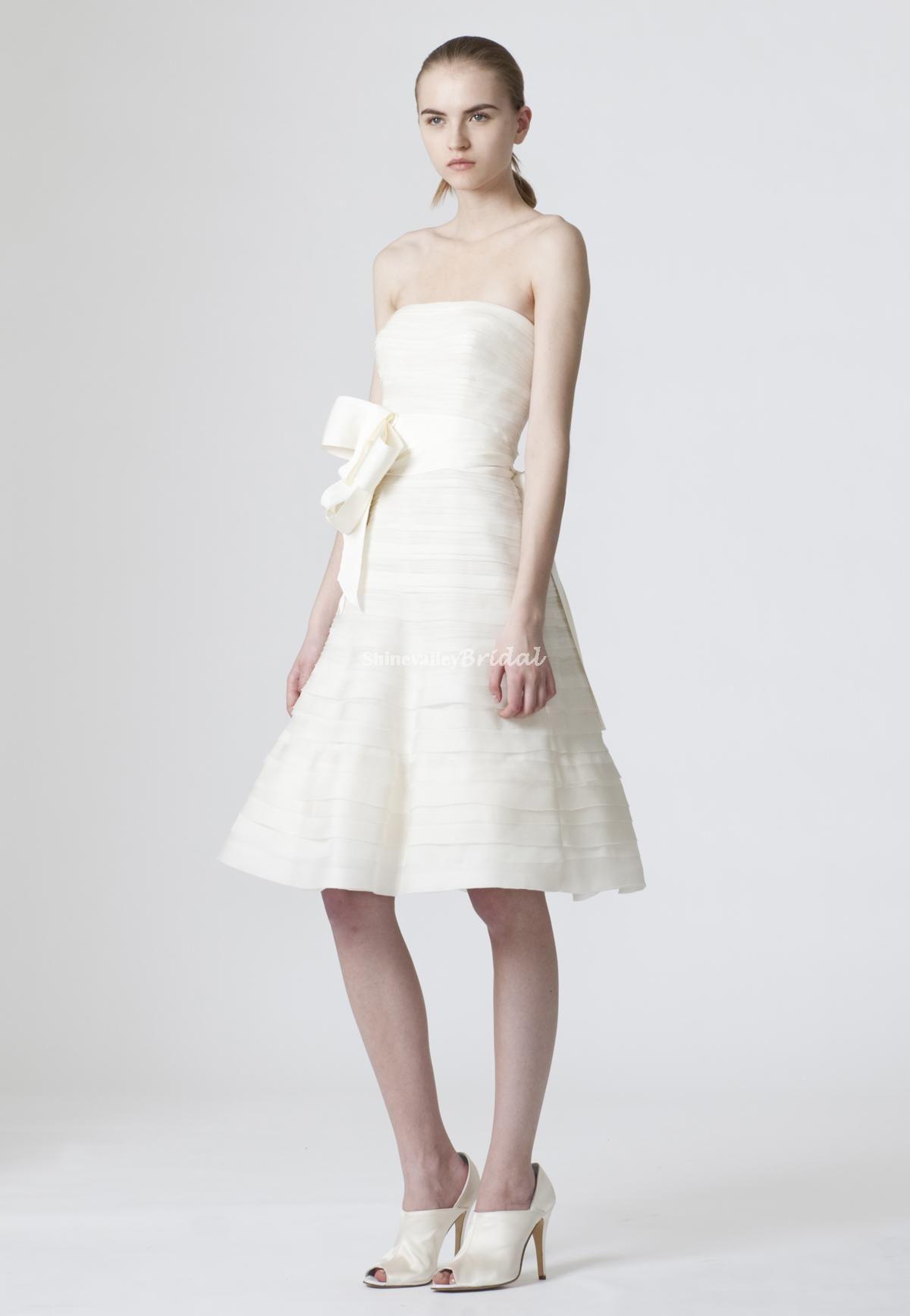 Vera Wang Short Wedding Dresses