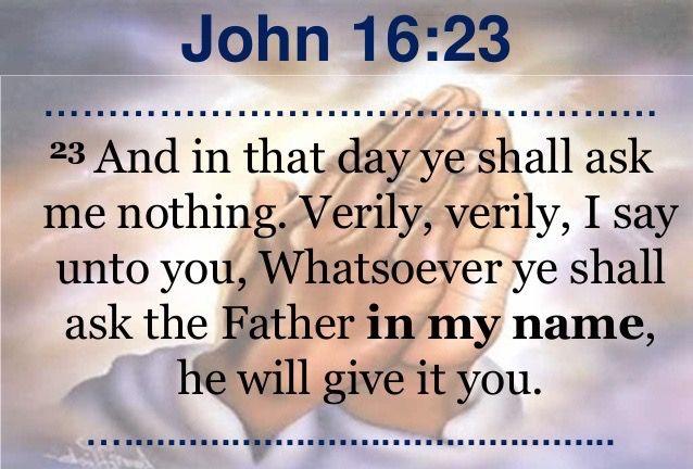 Kuvahaun tulos haulle John 16:23