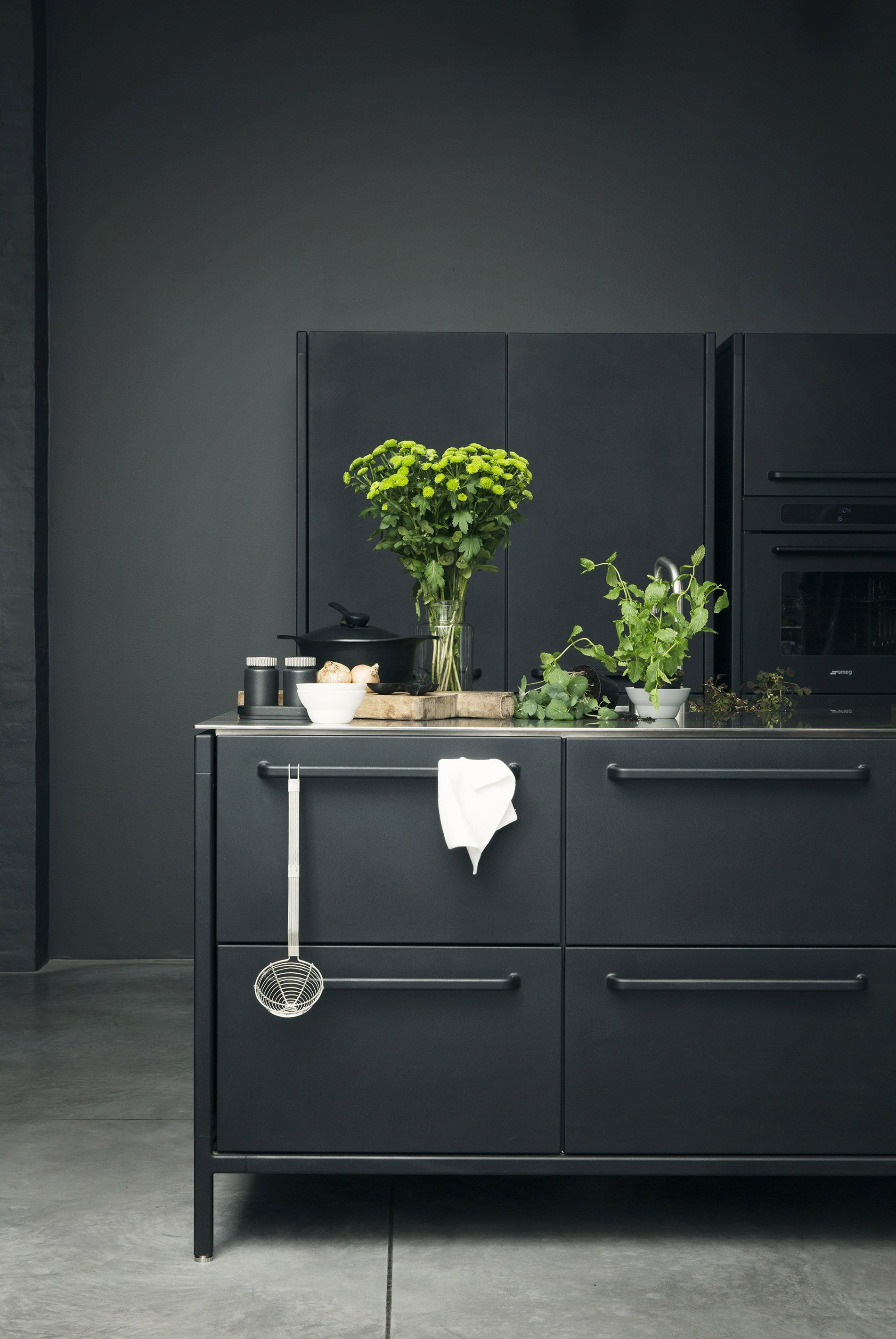 Vipp Flower Styling Event Home Decor Decor Black Kitchens