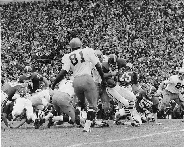 Msu Vs Notre Dame Football Game 1966 Michigan State Football Notre Dame Football Fighting Irish Football
