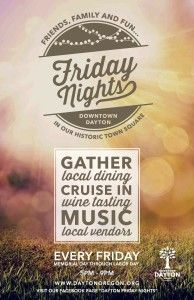 Dayton Friday Nights Every Friday Memorial Day Through Labor Day 2015 05 22 Friday Night Dayton Night