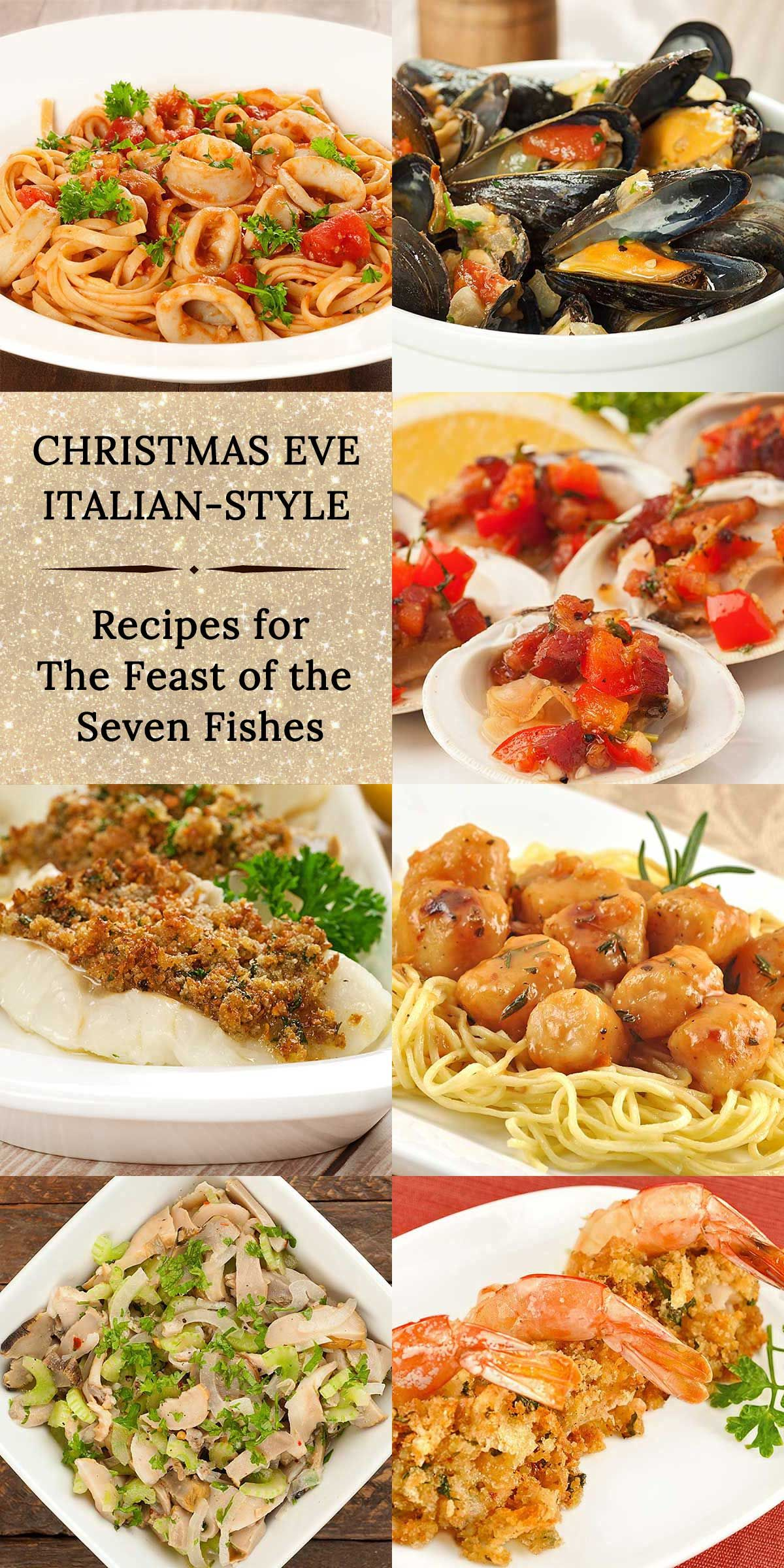 7 Fishes Christmas Eve Italian Recipes.Holiday Menu An Italian Christmas Eve Feast Of The Seven