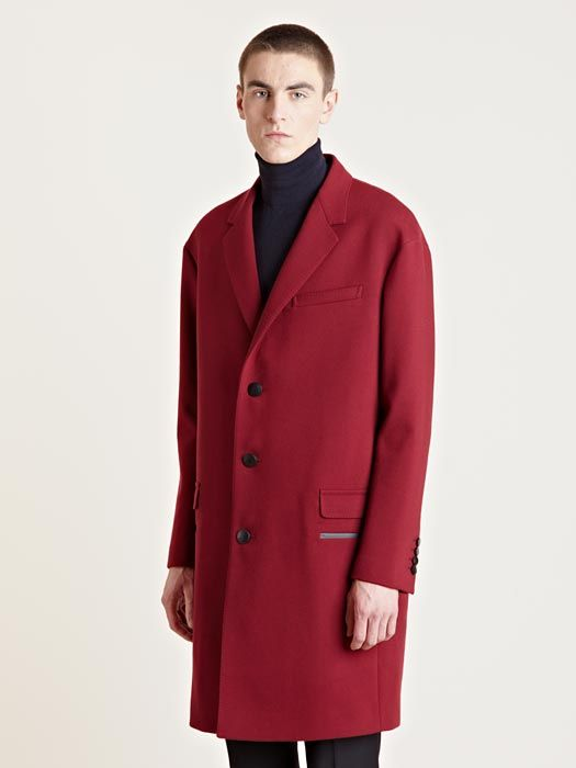 Lanvin Men s Oversized Wool Runway Coat £2970  5c2c9644760