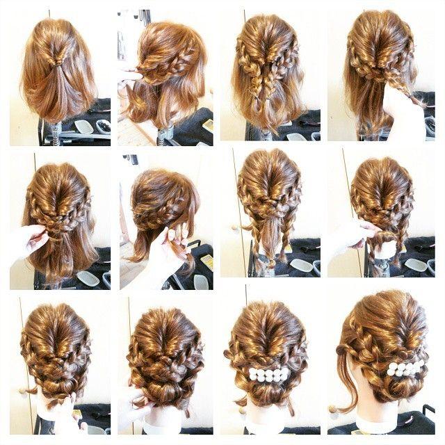 Instagramで話題 美容師に学ぶ簡単可愛いヘアアレンジ 画像あり 可愛いヘアアレンジ パーティヘアアレンジ 可愛いヘア