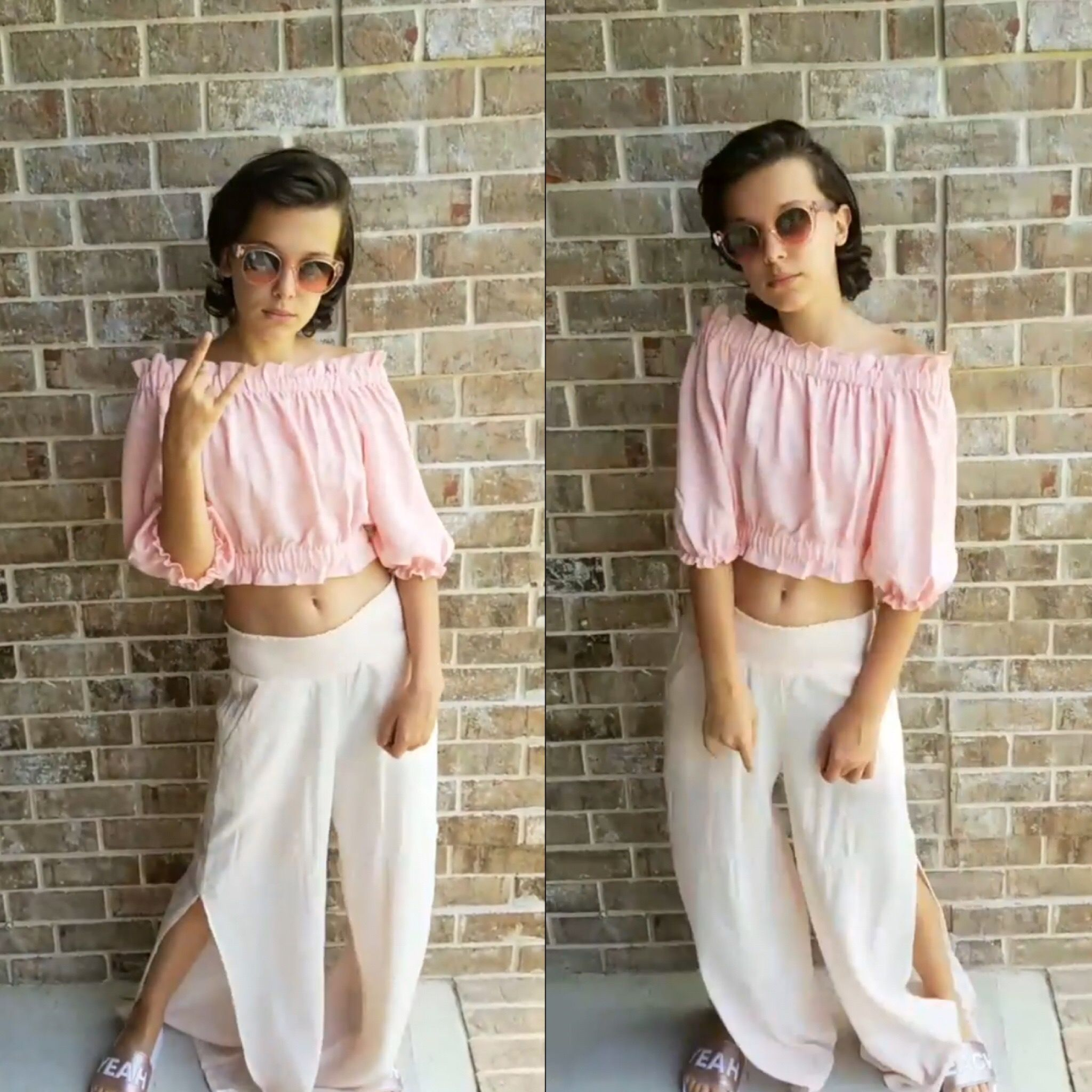 Millie Bobby Brown • she is so gorgeous holy crap Watch Stranger Things,  Sadie Sink