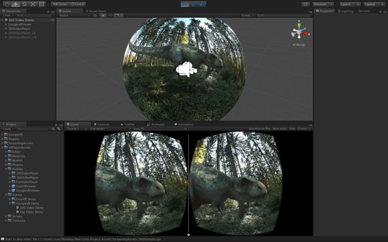VR Video Player #Video#VR#Tools#Player | Backgrounds Nature