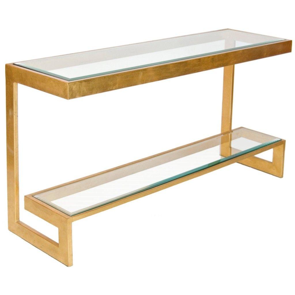 gold glass sofa table metal base console simplysortedbykat blog