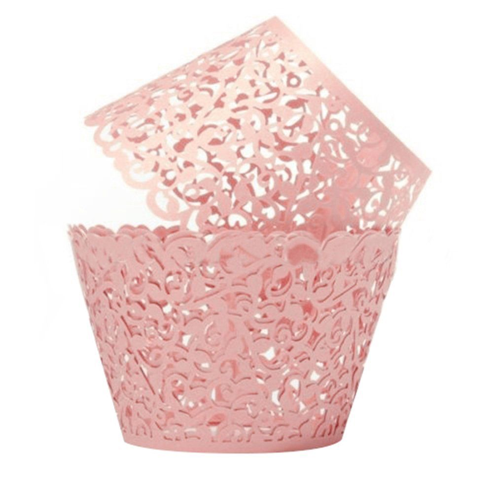 Spectacular Sanwood x Kuchendekoration Papier H lle Kuchen Verpackung Cupcake Wrapper Supplies Rosa