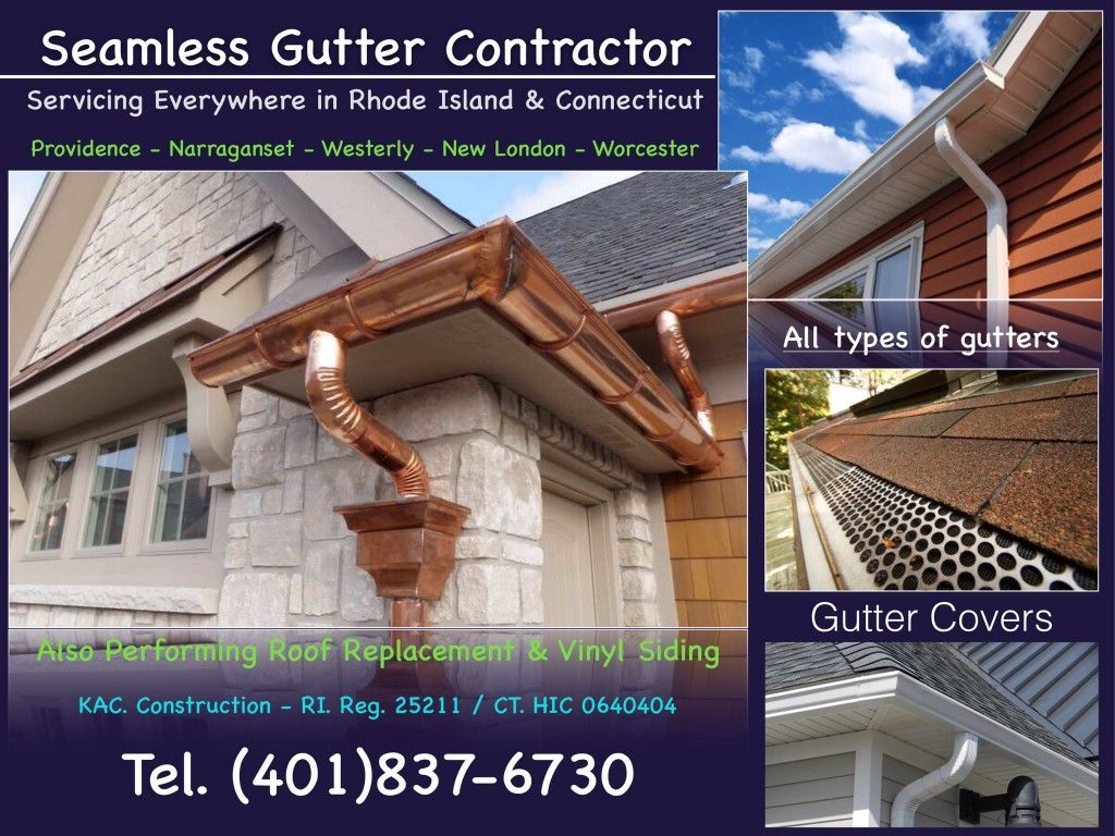 SEAMLESS GUTTERS BARRINGTON RI, (401)8376730 Seamless