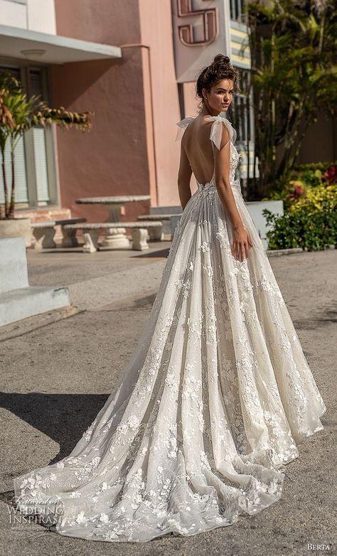 "Berta Spring 2019 Wedding Dresses — ""Miami"" Bridal Collection | Wedding Inspirasi"
