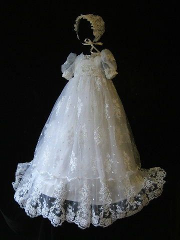 Angela West Christening gown set Clarissa by angelawesthgowns ...