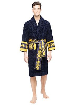 no sale tax low priced new photos Versace Bathrobe | Bornoz | Versace bathrobe, Versace ...