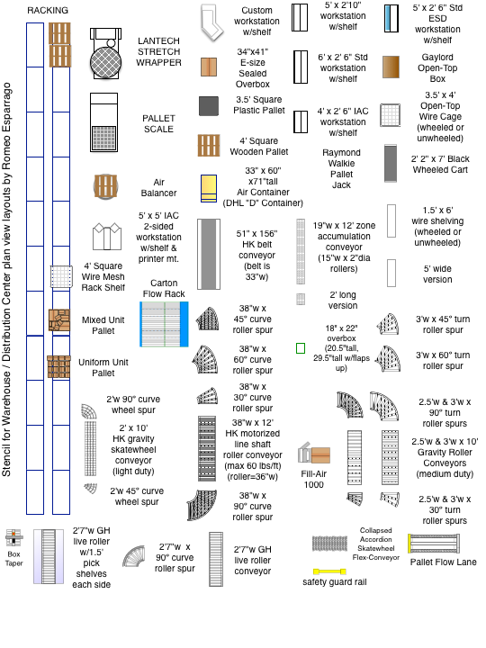 Warehouse  Distribution Center Floor Plan Layouts  space