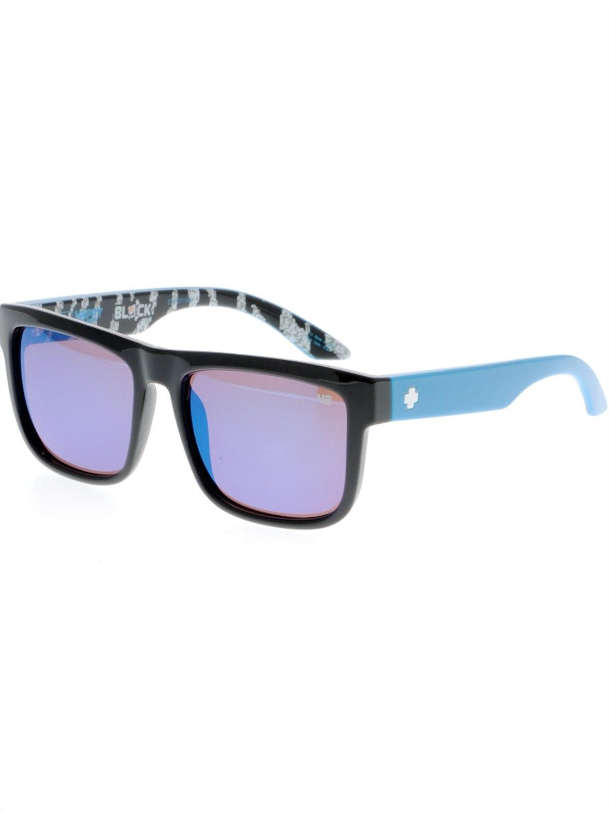 1968efa17 Spy Livery Black-Happy Bronze-Dark Blue Spectra Ken Block Discord Sunglasses  | Spy | FreestyleXtreme