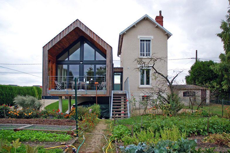 Extension d 39 une maison d 39 habitation extensions for Architecte maison container