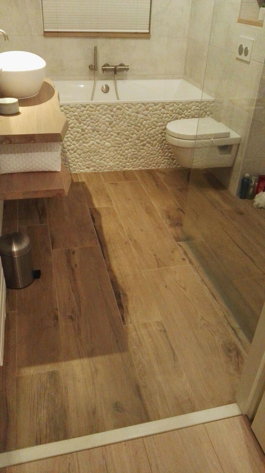 Badkamer tegels keramisch parket Emil oak | Badkamer tegels | Pinterest