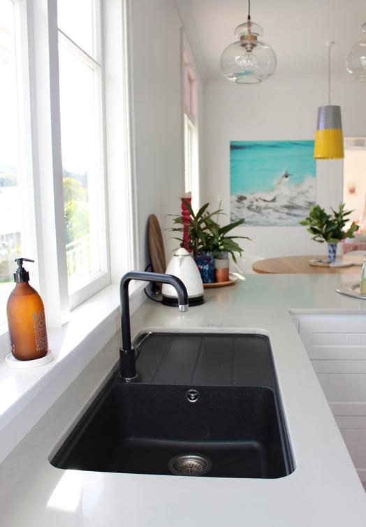 My Kitchen The Reveal Bibby And Brady Kitchen Interior Black Kitchen Sink Kitchen Design
